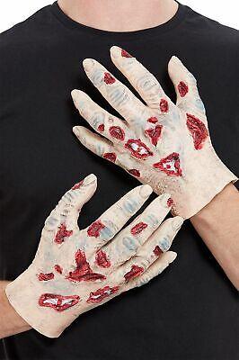 Halloween Zombie Verfaulendes Hand Handschuhe Fleisch Horror Kostüm (Fleisch Kostüm Halloween)