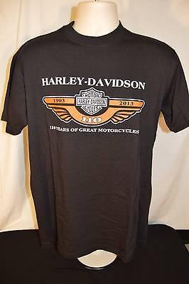 Футболка Harley Davidson 110 Years Black
