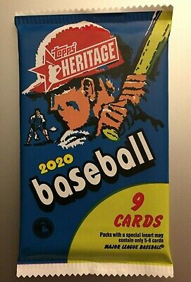 2020 TOPPS HERITAGE MLB Guaranteed Real One Auto Autograph HOT PACK #ed Red Ink?