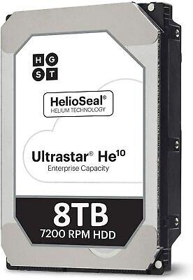 HGST 0F27613 ULTRASTAR HE10 3.5 inch 8TB SATA 6Gb/s 256MB 7200RPM 4Kn ISE HE10