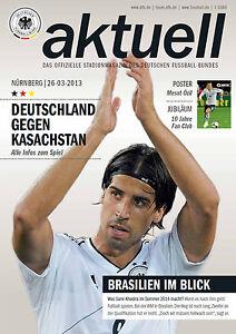 WM-Qualifikation 26.03.2013 Deutschland - Kasachstan inklusive Poster Mesut Özil