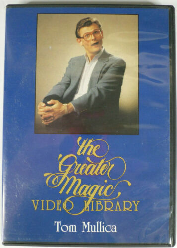 TOM MULLICA Greater Magic Video Library DVD Pro Magic Secrets / Routines Lecture