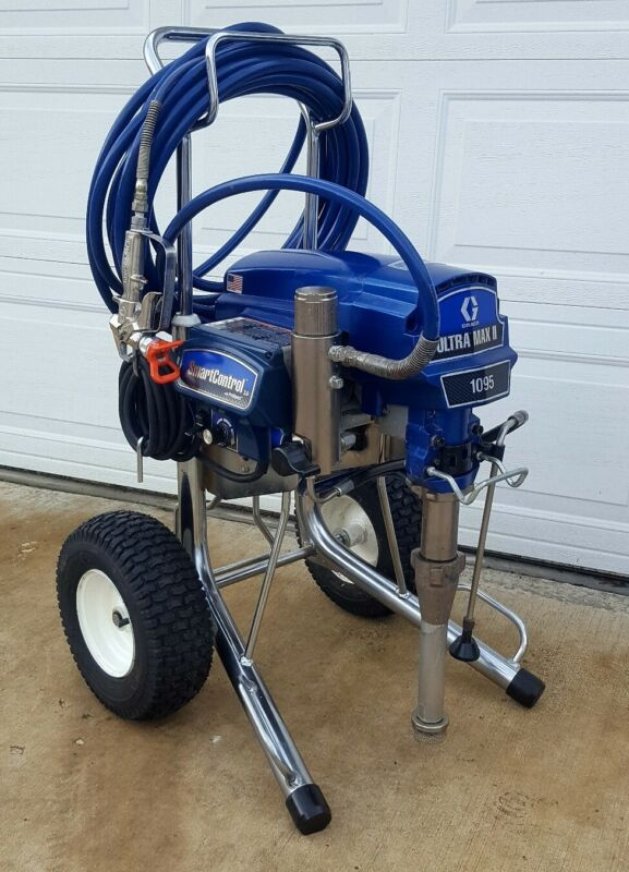 GRACO ULTRA MAX II 1095 ELECTRIC AIRLESS PAINT SPRAYER,1595,795,695