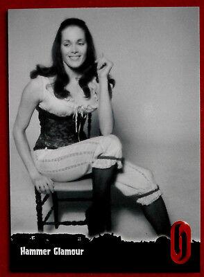 HAMMER HORROR - Series One - Card #58 - HAMMER GLAMOUR - MARTINE BESWICKE