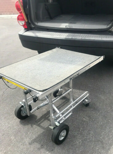 Ferno Washington Collapsible Equipment Transportation Cart w/ Handles & Rollers