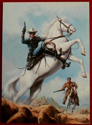 THE LONE RANGER - Card #56 - Dart 1997 - CHAMPION OF JUSTICE