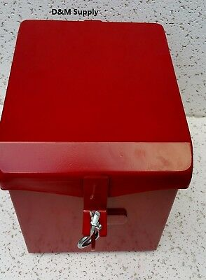 Deluxe Farmall Ih International Tractor Painted Battery Box Super H Hv Os4 W4