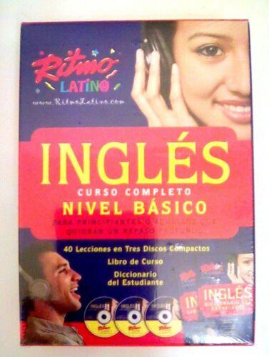 9780307291356 Ingles Curso Completo Nivel Basico 3 Discos Libro Y Diccionario