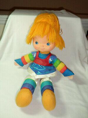 Hallmark Rainbow Brite Baby Doll - Blue Dress - Orange Hair - 1983