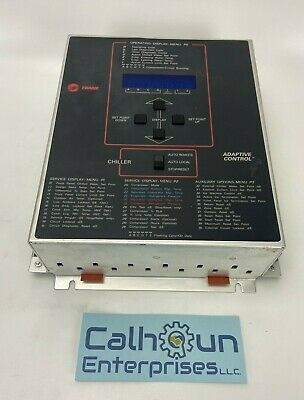 Trane Adaptive Chiller Control Display X13650362-06 Rev K 6200-0010-09 Warranty