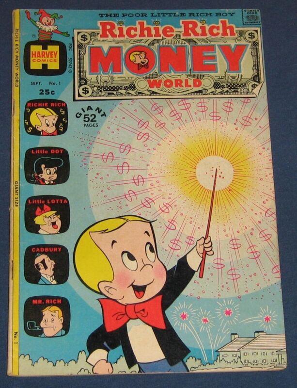 Richie Rich Money World #1 Sept 1972