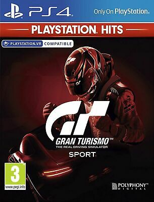 Gran Turismo Sport HITS Range (PS4) In Stock Brand New & Sealed Free UK P&P