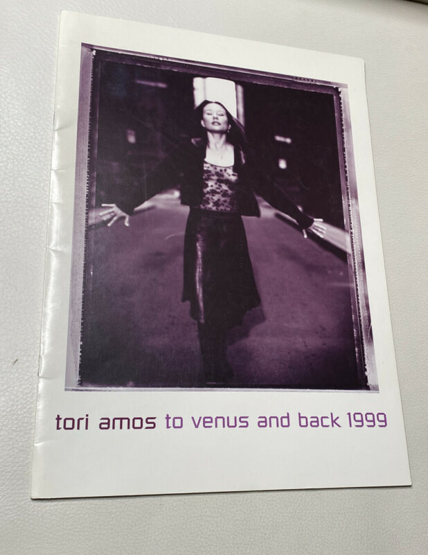 Vintage Original TORI AMOS 1999 TO VENUS AND BACK TOUR CONCERT PROGRAM BOOK