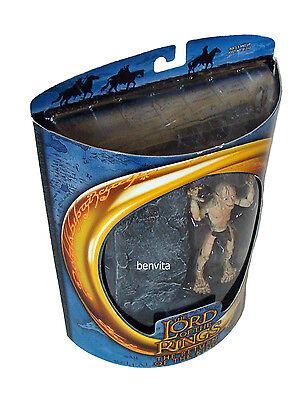 Herr der Ringe - Super Poseable Gollum 12 cm Figur Toy Biz  5+ - Neu