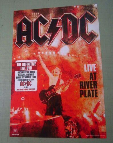 AC/DC Original Double Sided Promo Poster Flat Four Piece Set