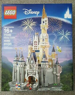 NEW IN BOX LEGO 71040 THE DISNEY CASTLE 4,080 PIECES