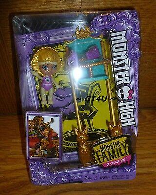 Monster High Family of Cleo De Nile Baby Sandy de Nile High Chair Siblings 2.5