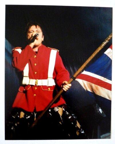 Bruce Dickinson Iron Maiden Live Concert 8x10 Photo #2
