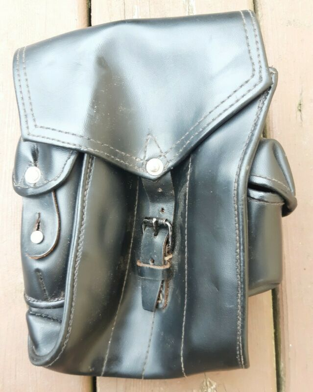 Vtg. Hungarian Army Military Short Magazine Ammo Pouch Bag