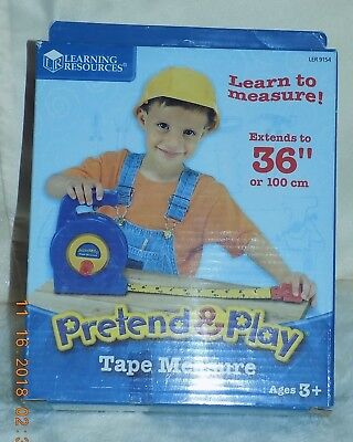 Learning Resources Pretend & Play Tape Measure For Children Educational - NIB