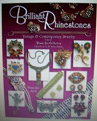 RHINESTONE JEWELRY COLLECTOR'S BOOK Includes Coro Lisner Kramer Haskell Napier