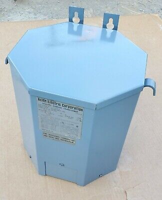 Acme T-2-53516-3 10kva General Purpose Transformer 240480v Pri 120240v Sec 1ph