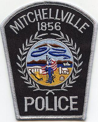 MITCHELLVILLE IOWA IA POLICE PATCH