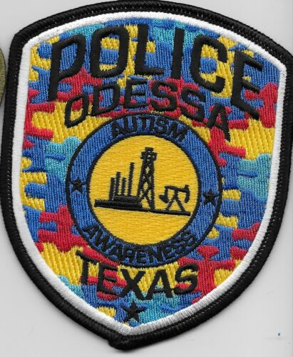 Autism Awareness Odessa Police State Texas TX