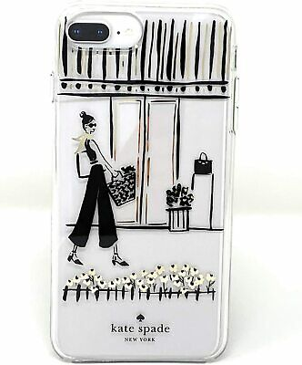 Kate Spade New York Window Shopping Protective Case For iPhone 8/7/6/6s Plus NIB