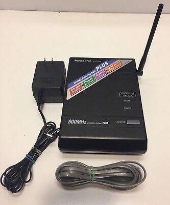 Panasonic Kx-t7885 900mhz Wireless Phone Base Fast Shipping  -19