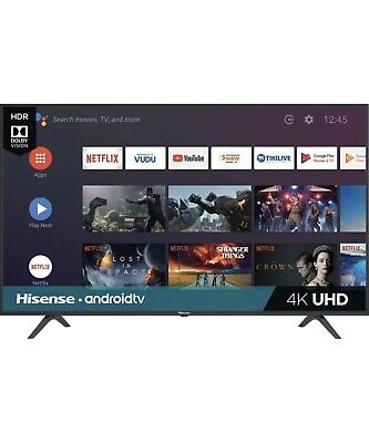 Hisense - 55-inch 4K Ultra HD HDR Smart LED TV