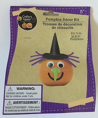Halloween Pumpkin Witch Decor Kit ~  NO CARVING - Halloween Decorations Pumpkin Carving