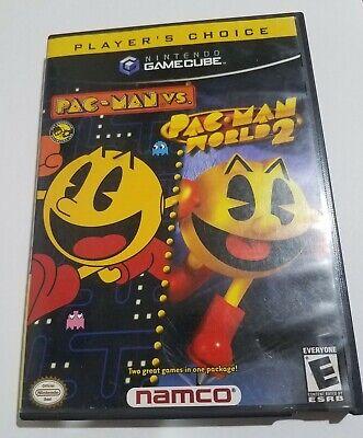 Pac-man vs and Pac-man world 2 Players Choice (GameCube)