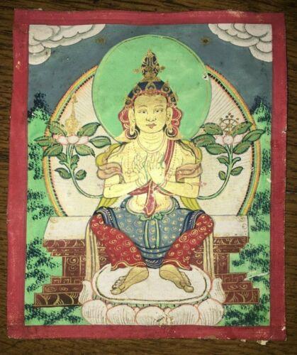 XIX CENTURY MONGOLIAN TSAKLI Maitreya