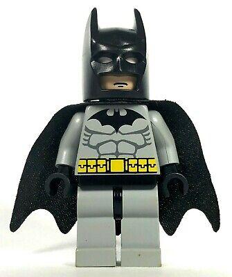 LEGO BATMAN MINIFIGURE 7779 7780 7782 Light GrAy Suit Minifig
