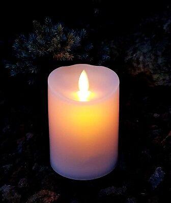 Candela LED Lumino Tremolante Funerario Decorazione Lampada per Tomba