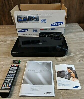 Samsung BD-H6500 Blu-ray Player W/Remote and Org. Box