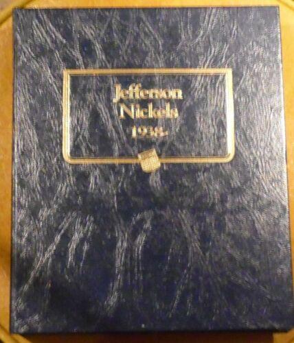 Whitman Jefferson Nickel Album 1938-2000  #9116  WITH proofs