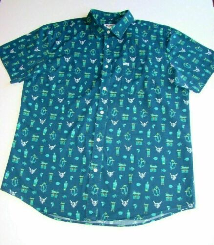 STONE BREWING LIMITED EDITION TIKI ALOHA SHIRT MCBIFF SOLD OUT XXL FREE SHIPPING