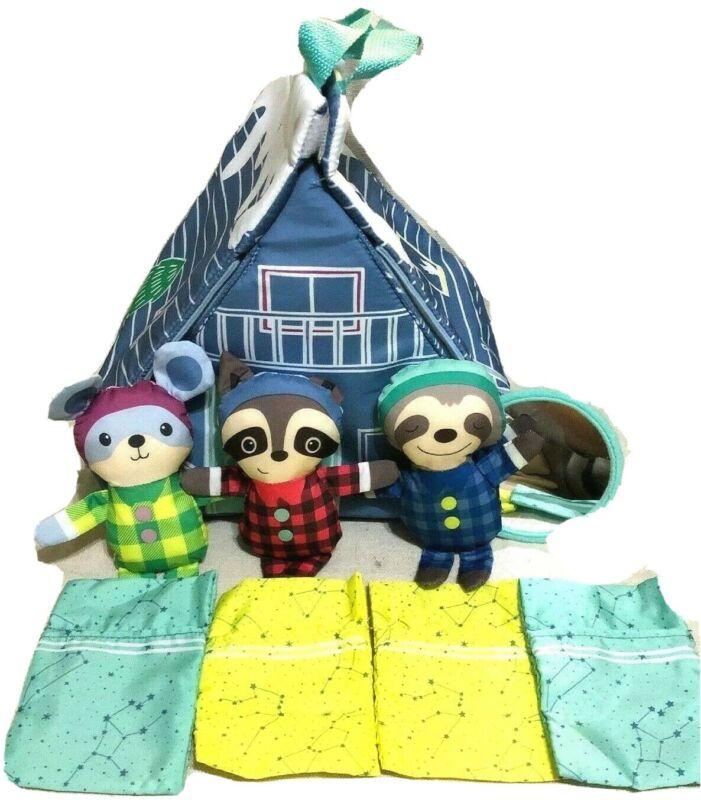 Infantino Go Gaga Pajama Party Playhouse Soft Baby Toy