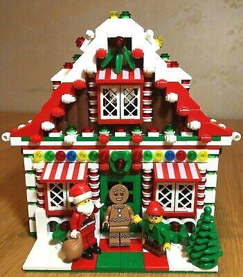LEGO Custom Gingerbread House Christmas Holiday Train City Town Santa Elf