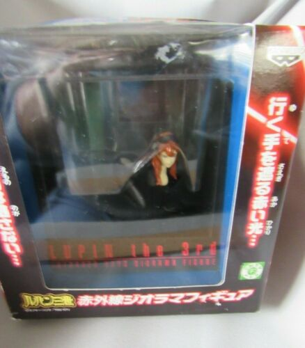 LUPIN THE THIRD INFRARED RAYS DIORAMA FIGURE NEW IN BOX