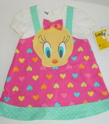 Tweety Bird Infant Dress 0 3 6 9 Months