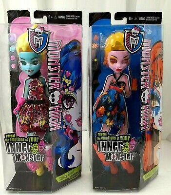 Lot of 2 Monster High Inner Monster Add On Accessory Kits for Dolls