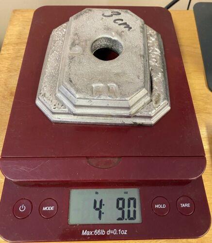 4 lbs 9 oz Cerrobend Low Melting Temp Alloy Wood