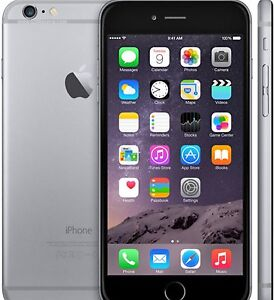IPhone 6 Plus 64gb excellent silver case