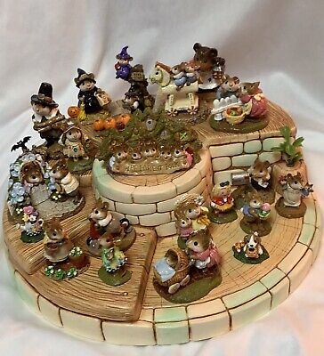 Great Clay Bandstand Display for Wee Forest Folk WFF not Included English Made