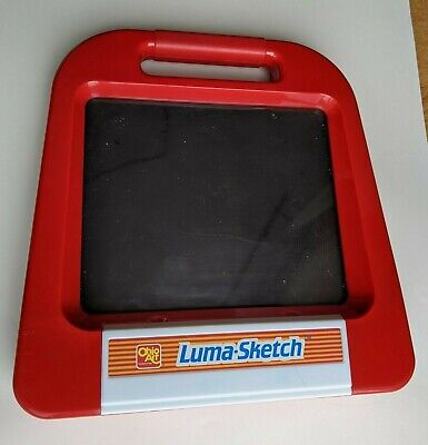 Vintage Etch A Sketch Florescent Luma-Sketch Drawing Toy Ohio Art Light Up