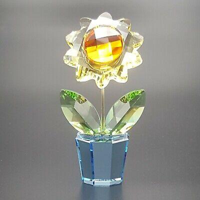 Swarovski Crystal Sunflower ( Small ) 663148 Perfect