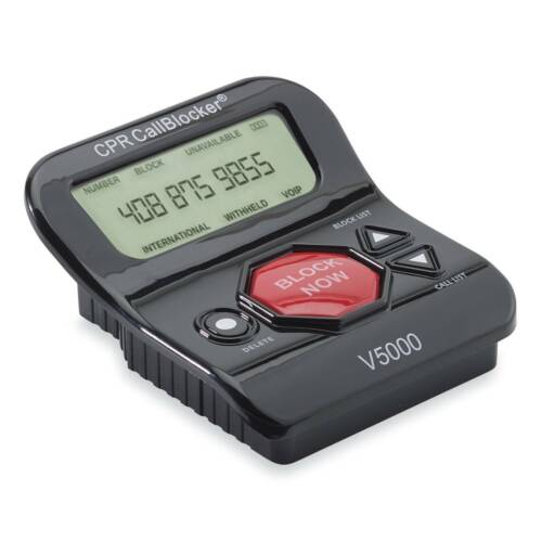 NEW CPR V5000 With 5000 Known Robocalls & Additional 1500 Unwanted Calls